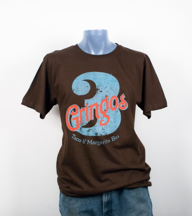 3-Gringos T-shirt Screen printing
